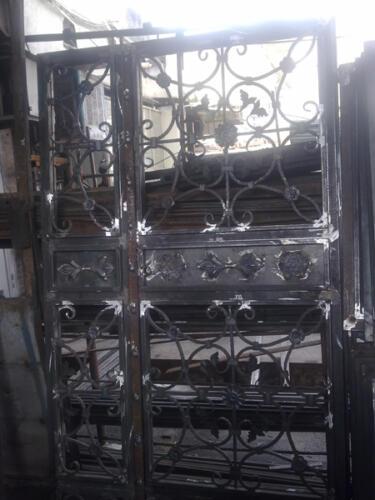 ساخت درب آهنی