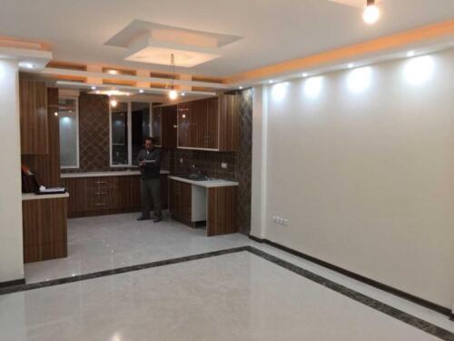 آشپزخانه بعد از بازسازی پیروزی