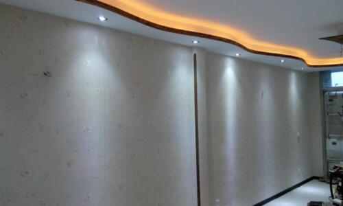 کناف کاری و نور پردازی با هالوژن و نور مخفی