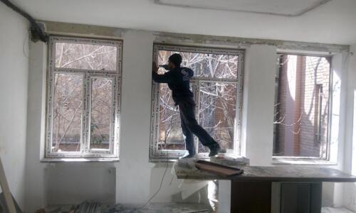 اجرای پنجره upvc بدون تخریب